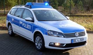 Funkstreifenwagen Des Wach Und Wechseldienstes Polizeifahrzeuge