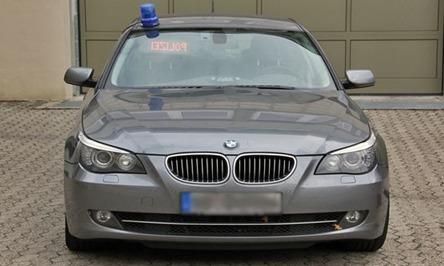 Videowagen überwachung Der Geschwindigkeit Polizei Brandenburg